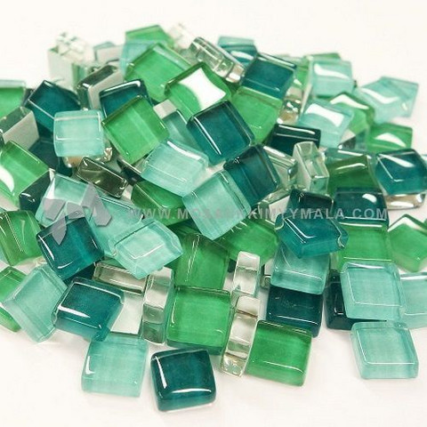 Mini Crystal, Teal Mix 500 g