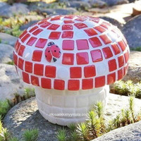Little mushroom, Red, DIY