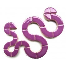 Curved forms, Purple, 50 g