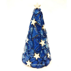 Little blue Christmas tree