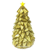 Christmas Tree, Golden, DIY, 14 cm