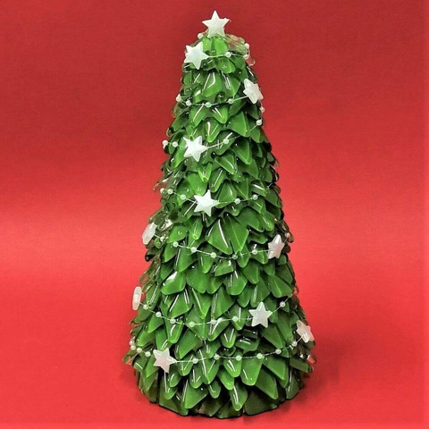 Christmas tree, Stars, DIY, 22cm