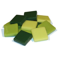 Fantasy Glass 20 mm, Green Mix, 1 kg