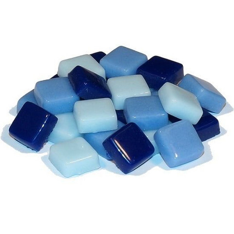 Fantasy Glass 10 mm, Blue Mix, 1 kg