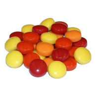 Fantasy Glass, Round 12 mm, Red Mix, 1 kg