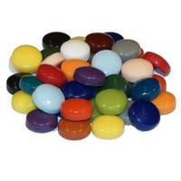 Fantasy Glass, Round 12 mm, Multicolour Mix, 1 kg