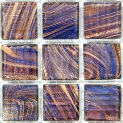 Lilac Blue Copper G42, 25 Tiles