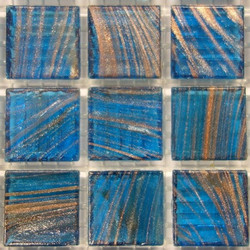 Turquoise Copper G62, 25 Tiles