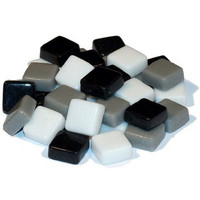 Fantasy Glass 10 mm, Grey Mix, 200 g