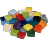 Fantasy Glas 10 mm, Multicolour Mix, 200 g