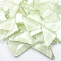 Soft Glass, White Triangle 500 g