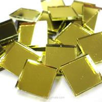 Mirror Mosaic, Gold, 2x2 cm, 50 g