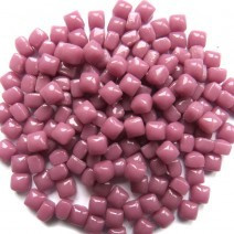 Glass Micro Cubes, Rose 10 g