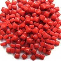 Glass Micro Cubes, Blood Red 10 g