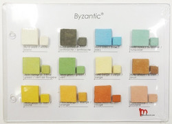Sample board, Byzantic