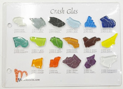Sample board, Crash Glass