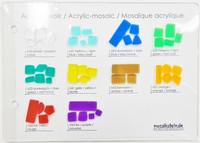 Värikartta, Mosaikstein, Akryylimosaiikki