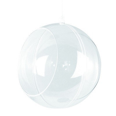 Plastic ball for florists, 12 cm