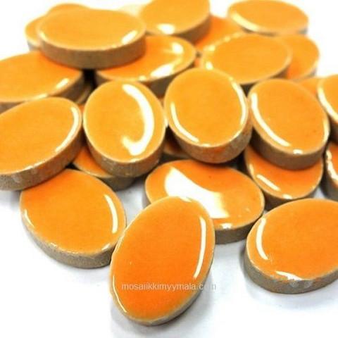 Ceramic Ovals, Orange, 50 g