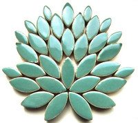 Ceramic leaves, Phthalo Green, 50 g
