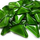Soft Glass, Green Triangle 500 g