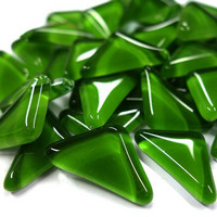 Soft Glass, Green Triangle 200 g