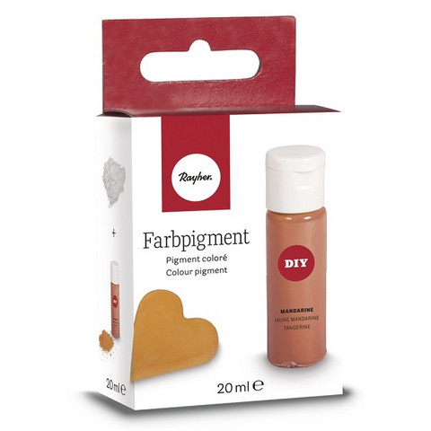 Färgpigment, Tangerine, 20 ml