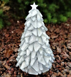 Christmas Tree, Silver, DIY