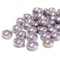 Minipärlor, Pearlised, Lilac, 50 g