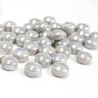 Minipärlor, Pearlised, Pale Grey, 200 g