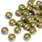 Minipärlor, Pearlised, Light Olive, 200 g