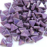 Mini Triangle, Iridised Bright Purple, 50g