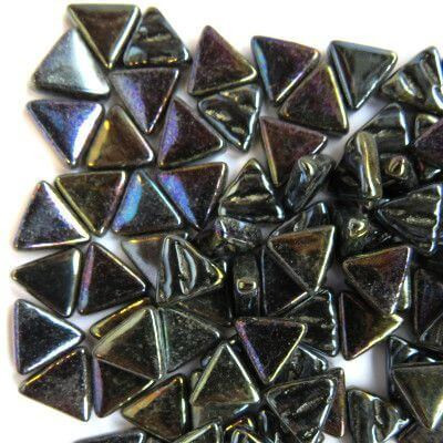 Mini Triangle, Iridised Opal Black, 50g