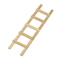 Wooden ladder to minigarden, 13.5cm
