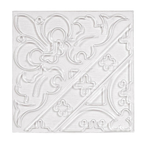 Relief casting plate Ornament, 11x11cm