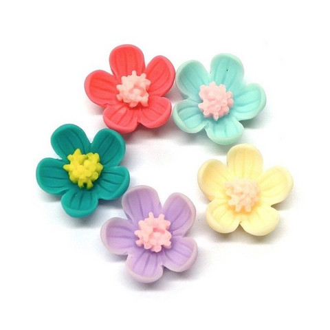 Little flowers, 5 pcs