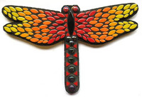 Dragonfly, Red-Yellow, 31 cm, DIY