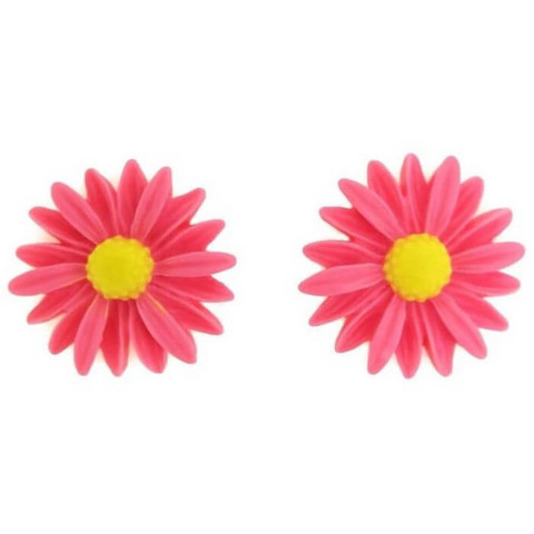 Red daisy, 2 pcs