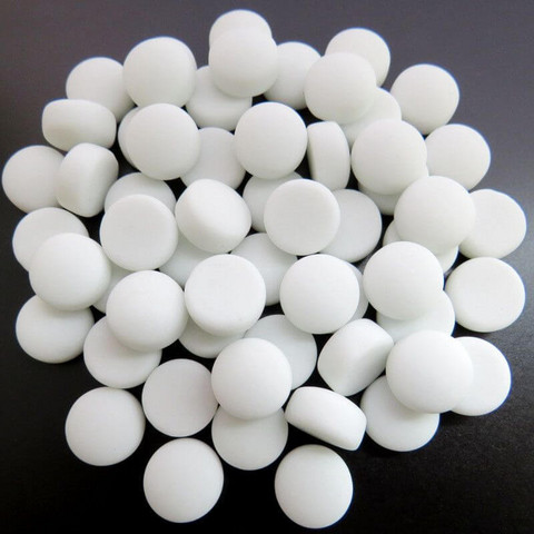 Mini Gems, Matte, White 50 g