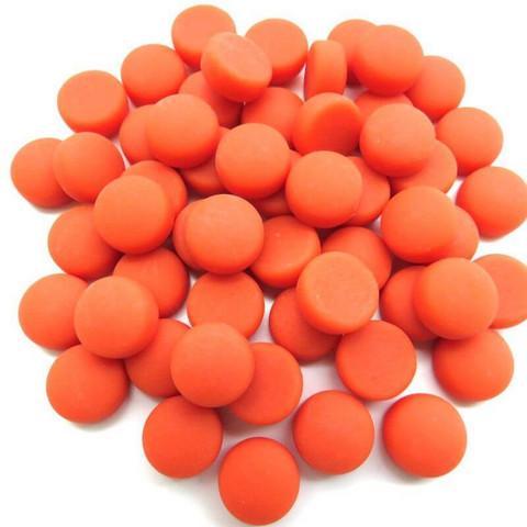 Minipärlor, Matte, Mandarin 50 g