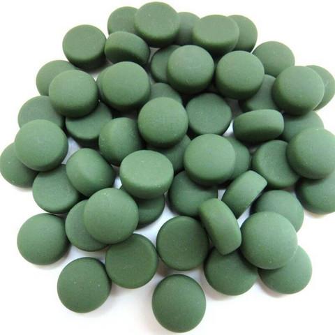 Minipärlor, Matte, Green 50 g