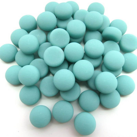 Mini Gems, Matte, Teal 50 g