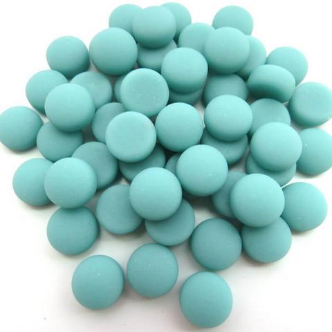 Minipärlor, Matte, Teal 50 g