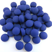 Minipärlor, Matte, Cobalt 50 g