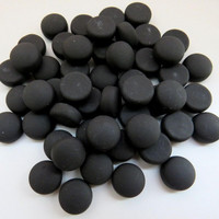 Mini Gems: Matte, Black 50g