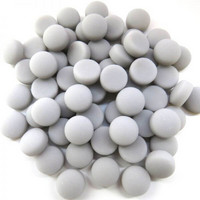 Mini Gems: Matte, Grey 50g