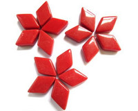 Glass Diamonds: Red, 50g