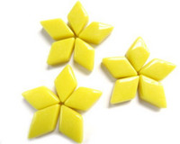 Glass Diamonds: Yellow, 50g
