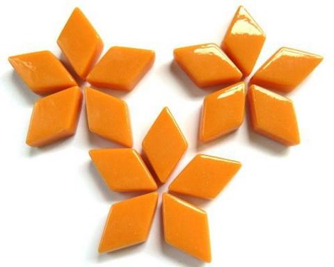 Glasdiamanter, Orange Opal  50 g