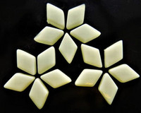 Glass Diamonds: Alabaster, 50g